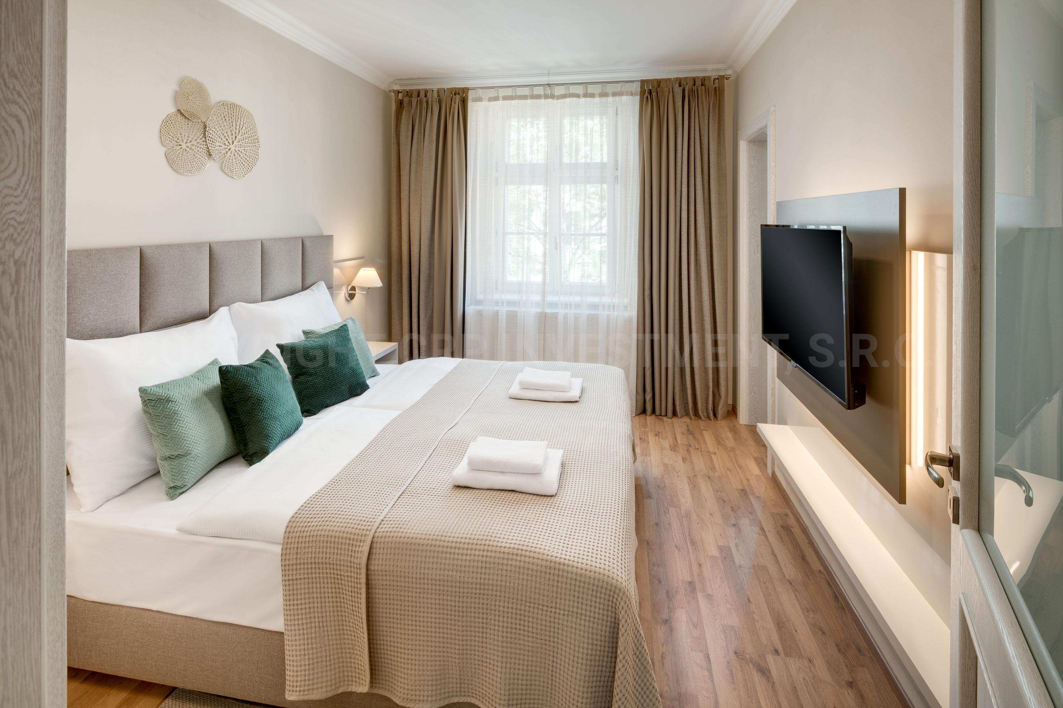 Частные апартаменты в Праге в аренду с одной спальней