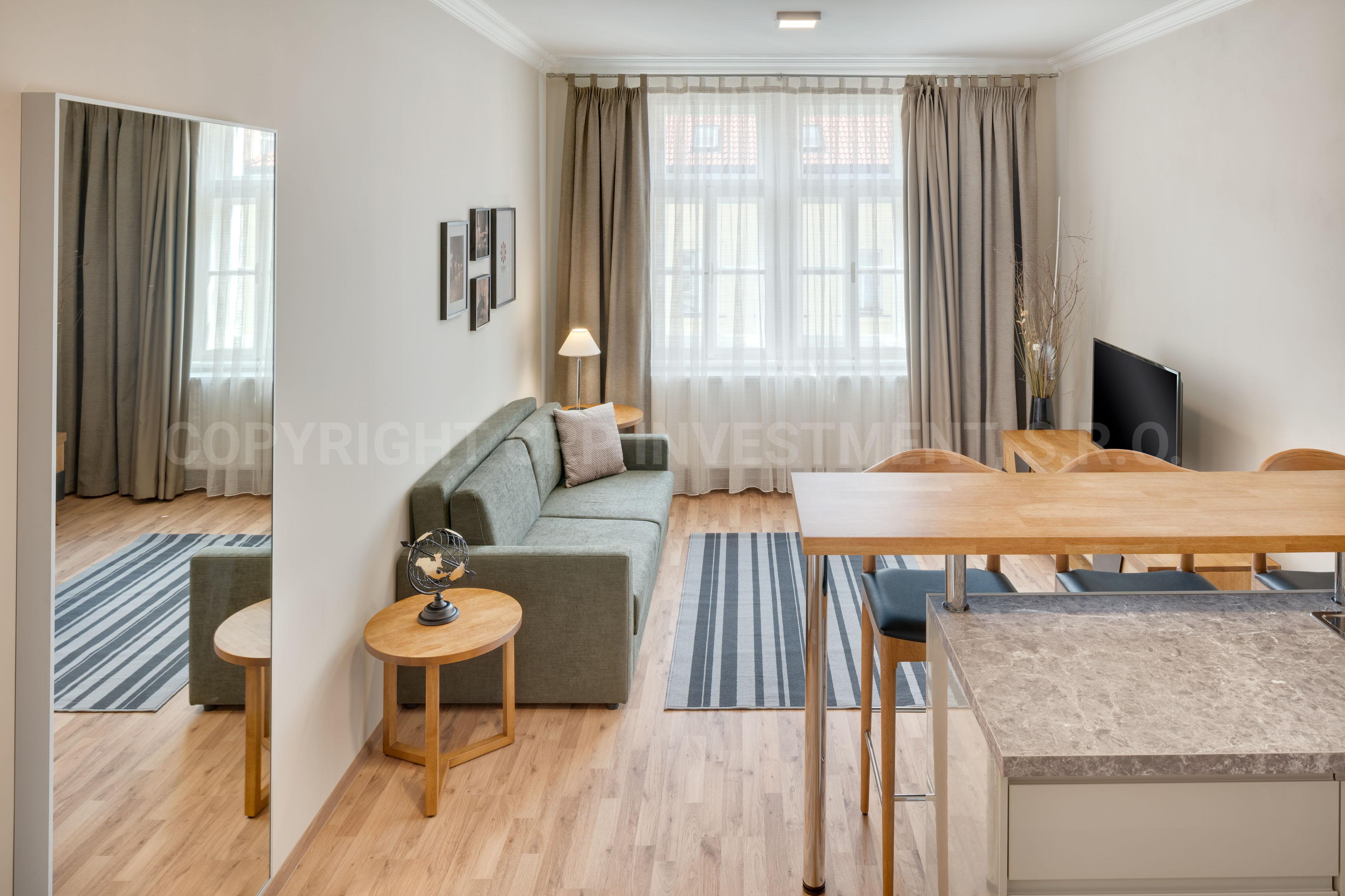 Апартамента в Праге с одной спальней